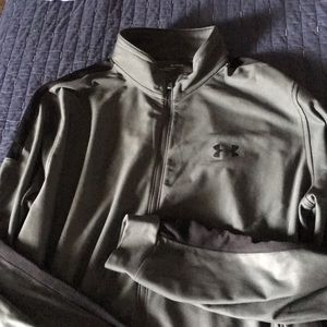Mens XL Under Armour Zip up jacket